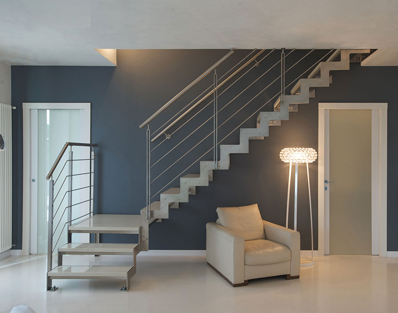 open staircases - design indoor staircases
