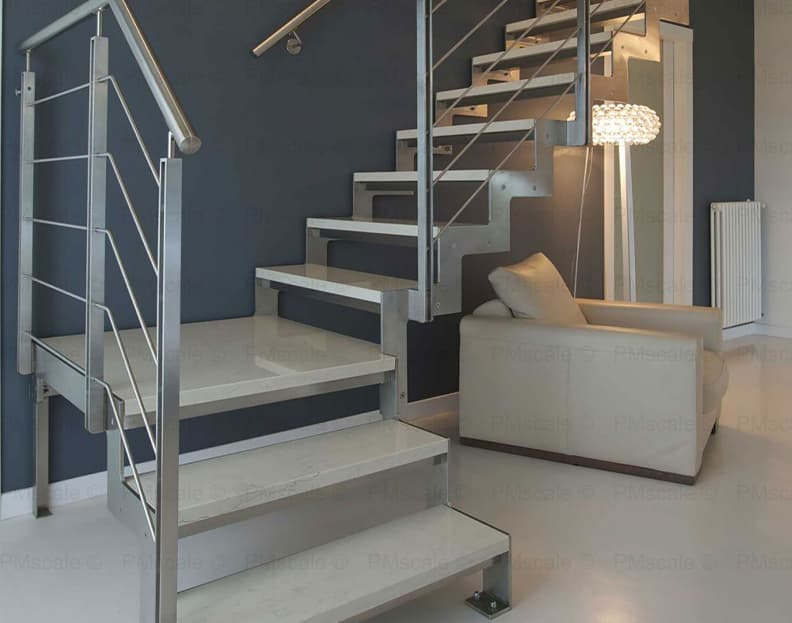 marble staircases - italian design staircases