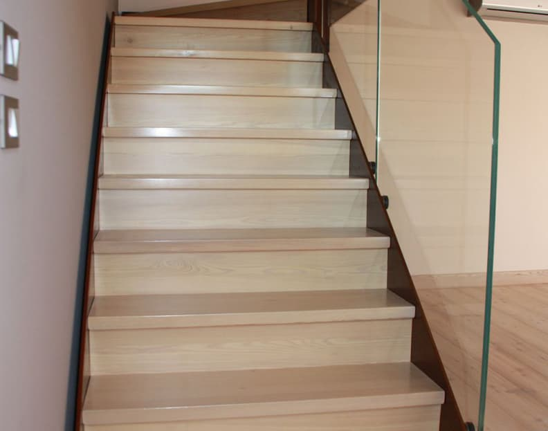 wood staircases - italian design staircases