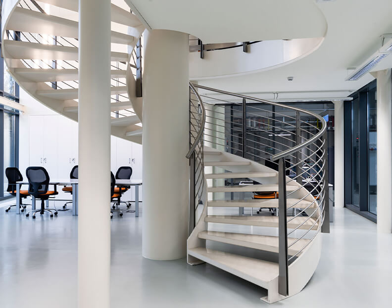 staircases for commercial buildings