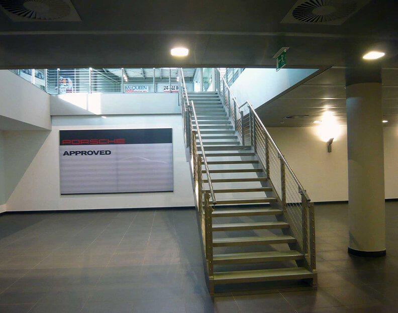 staircases for shops