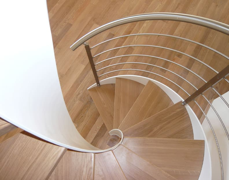 spiral staricases - italian design staircases